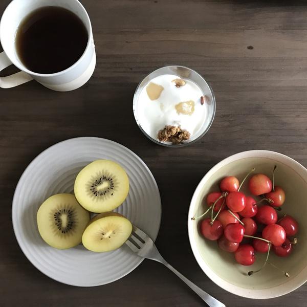 旬のフルーツでgood morning