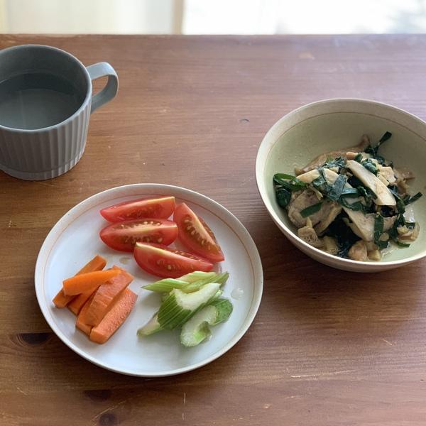 柿とhiiroの朝