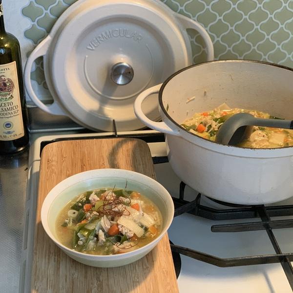 あんかけ中華風スープ