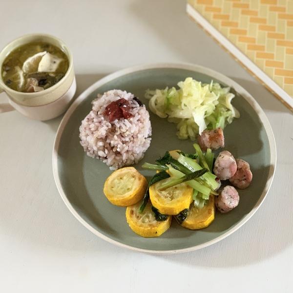 夏野菜のランチプレート