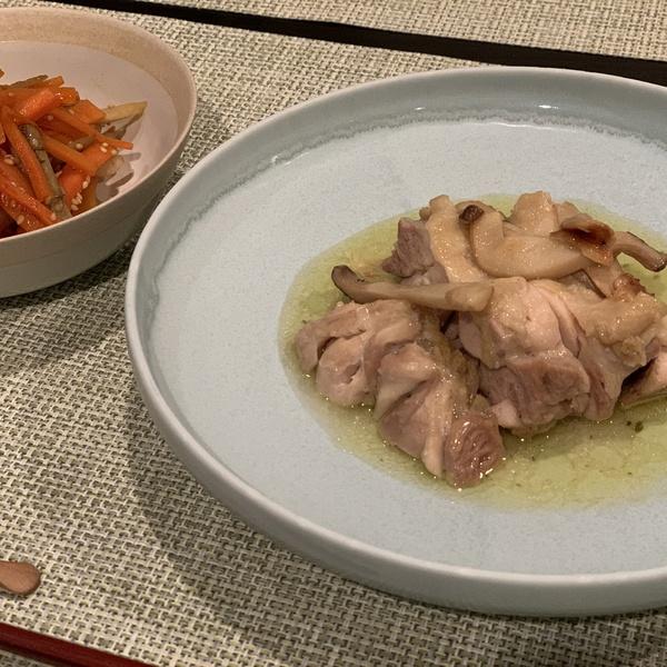 ディナーの一皿にUNKAI