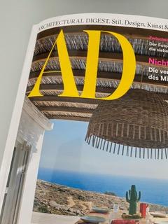 『Architectural Digest』に「UNKAI」「cekitay」掲載