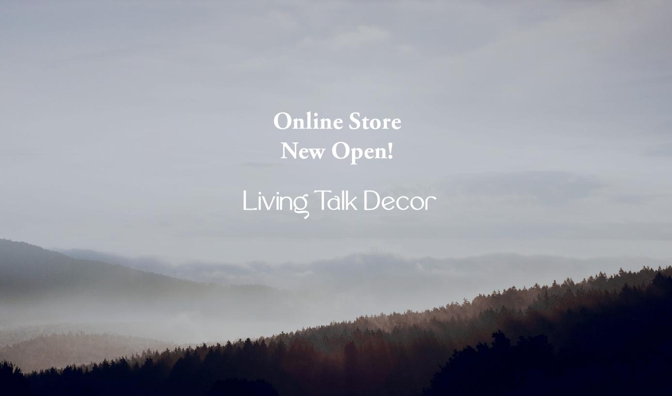 オンラインストア「Living Talk Decor hotel & home」グランドオープン!